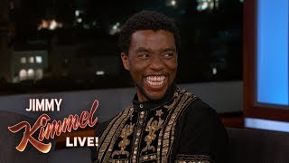 Chadwick Boseman on Black Panther