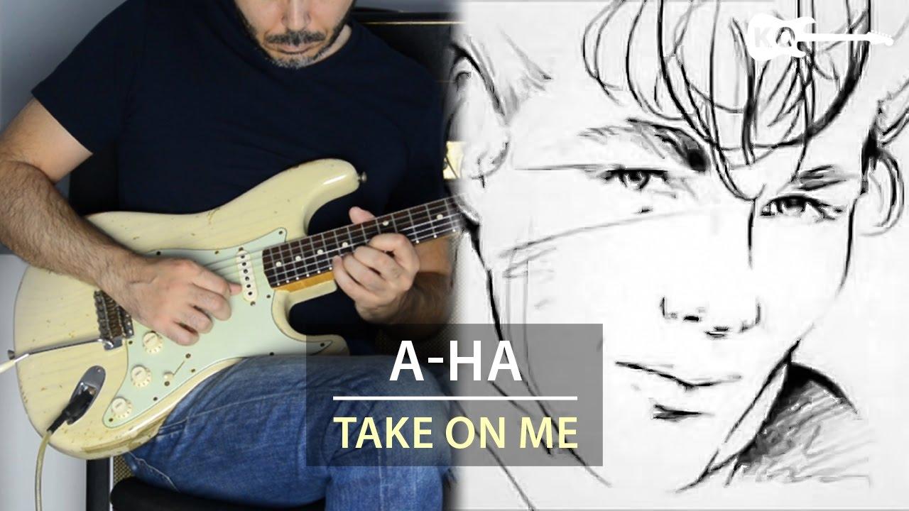 A-Ha – Take On Me – Electric Guitar Cover by Kfir Ochaion