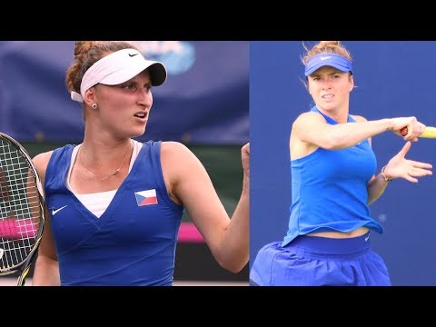 Marketa Vondrousova  vs Elina Svitolina R2 QATAR 2018 HD Highlights