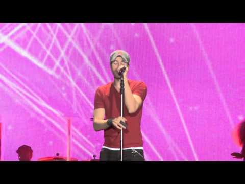 Enrique Iglesias video I am a freak - Estadio Geba 2015