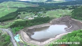 Minamiaso-mura Japan  city pictures gallery : 西原村空撮20160427風当【Kumamoto earthquake】Nishihara-mura aerial photography using drone(UAV)