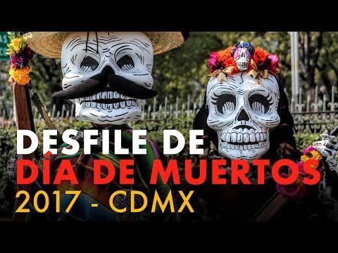 Desfile Día de Muertos 2017 CDMX