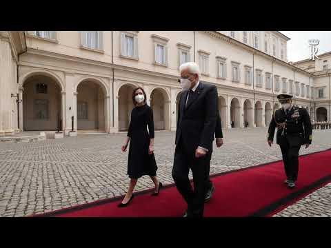 """Președintele Maia Sandu, în vizită oficială la Roma: """"Suntem hotărâți să dezvoltăm în continuare relații bune de parteneriat cu Italia"""""""