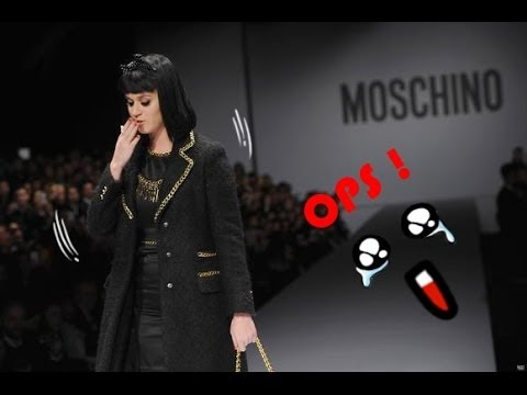 Katy Perry Booed during a Milan Fashion Show!!