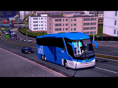 Euro Truck Simulator 2 Bus trip to Bratislava with Marcopolo G7 1200 part1