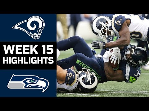 Rams vs. Seahawks | NFL Week 15 Game Highlights (видео)