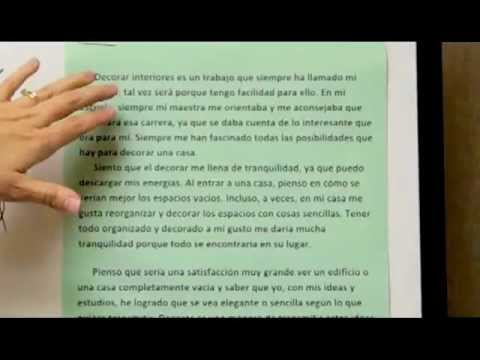 GED In Spanish Essay Writing Lesson/Part II