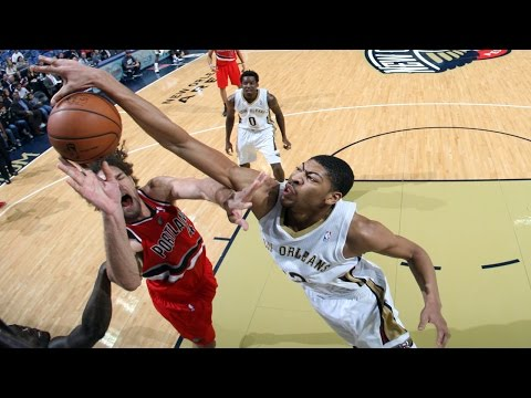 Video: Anthony Davis is a Defensive Force!