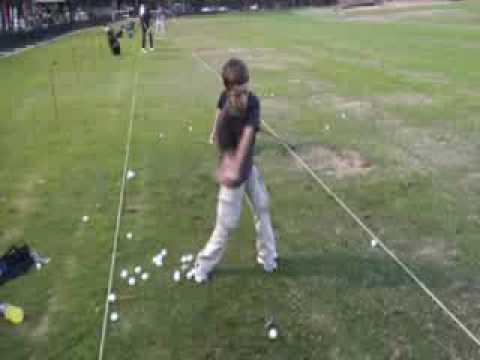 Golfer Slips and Falls