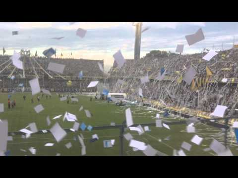 Video - Rosario Central (2) vs. Tigre (1) Recibimiento de Los guerreros - Los Guerreros - Rosario Central - Argentina