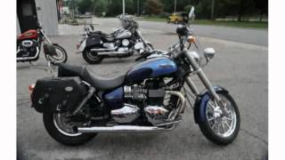 4. 2009 Triumph America Base - Features