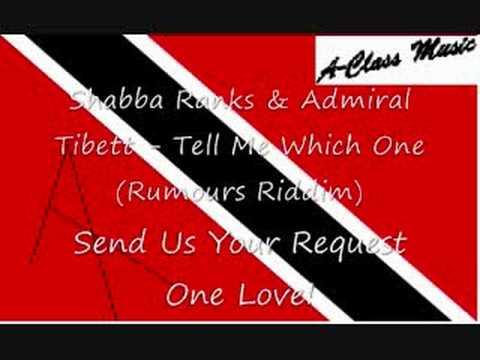 Shabba Ranks & Admiral Tibett - Tell Me Which One