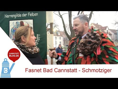 Fasnet Bad Cannstatt (älteste Stadtbezirk von Stuttga ...