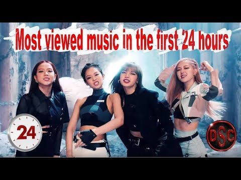 Videos musicales - Most viewed music videos in the first 24 hours