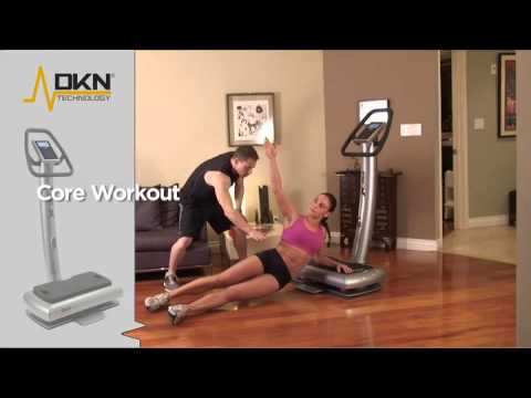 DKN-Core workout with celebrity trainer Michael Carson