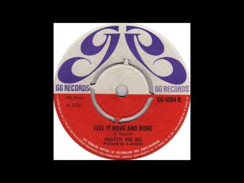 Paulette And Gee - Feel It More And More