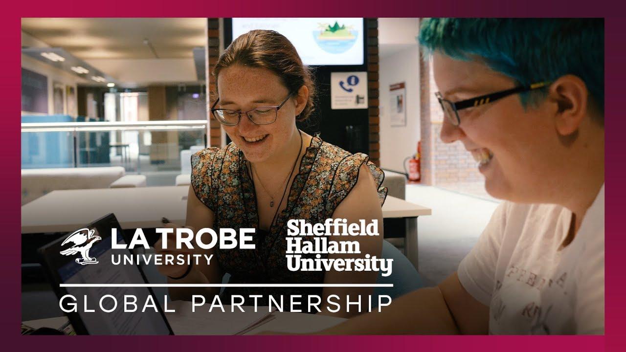 La Trobe students experience studying at Sheffield Hallam