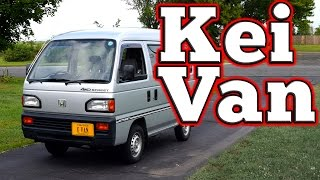 Regular Car Reviews: 1988 Honda Acty Street Kei Van