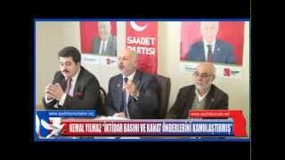 KEMAL YILMAZ''İKTİDAR BASINI VE KANAT ÖNDERLERİNİ KAMULAŞTIRMIŞ''