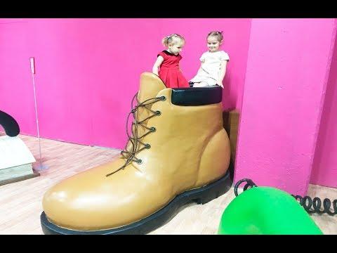 Дом Великана  Развлечения для детей Funny Entertainment for kids Indoor Playground for kids