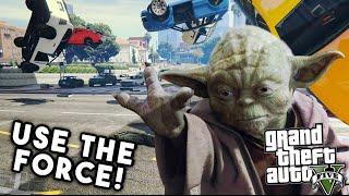 Video STAR WARS FORCE POWERS MOD (GTA V MOD) | Utilise le pouvoir de la force sur GTA V ! MP3, 3GP, MP4, WEBM, AVI, FLV November 2017