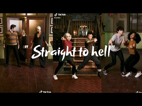 """"""" Straight to hell """" - Chilling adventures of Sabrina Tik tok compilation"""