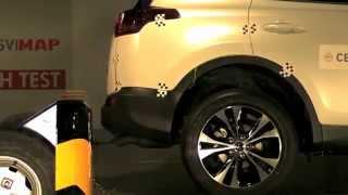 Crash Test Trasero Toyota Rav4
