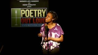 This is a finalist performance by Kristen Dupard. - The Mother, by Gwendolyn Brooks Mississippi Arts Commission's Poetry Out ...