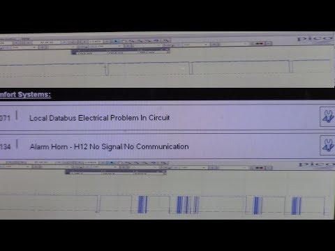 2007 Audi A6 4.2L - Local Databus Error (LIN), Horn No Communication