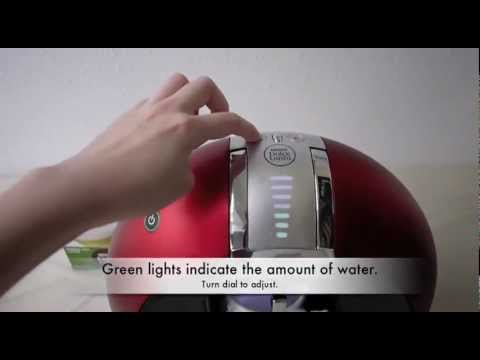 How to use the Nescafe Dolce Gusto coffee maker
