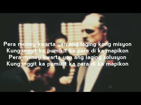 PERA MONEY KWARTA - EVD GANG(lyric video)