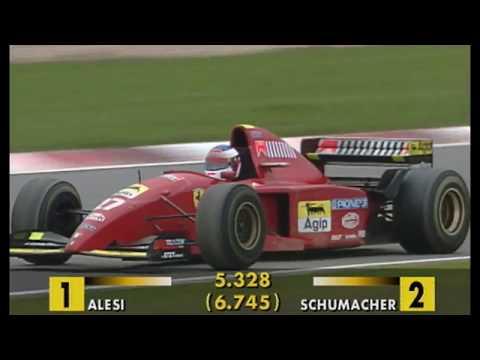 Schumacher vs. Alesi - Amazing Battle at Nürburgring 1995 (50fps Broadcast Quality)