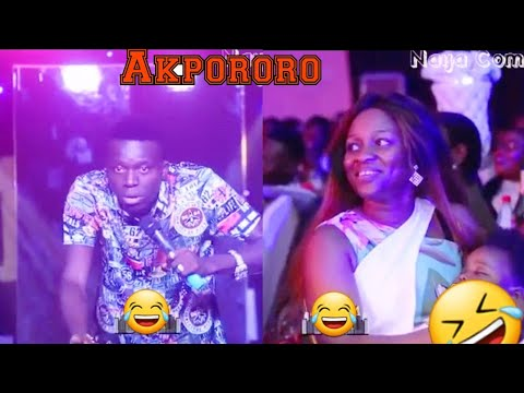 Akpororo Is killing me with Laugh - #Akpororo#Comedy - (Naija Comedy Tv ).