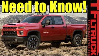 2020 Chevy Silverado HD: Now Tows 35,500 - Here's What You Need To Know! by The Fast Lane Truck