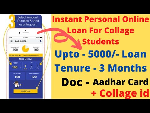 Sahukar   Instant Personal Online Loan For Collage Students
