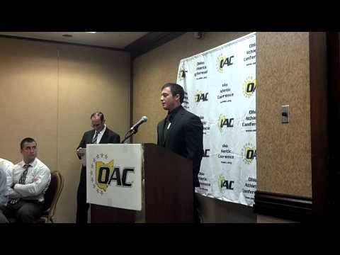 Nick Driskill at OAC Media Day