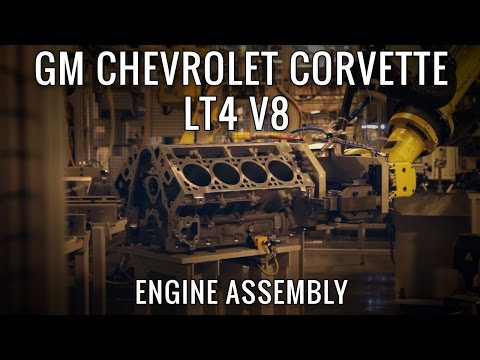 Building GM's most powerful Engine Ever, the 650hp LT4 V8!
