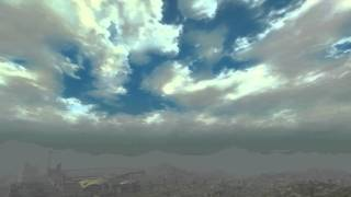 Fallout New Vegas Mod: Nevada Skies URWLified (10 Minute Time Lapse)