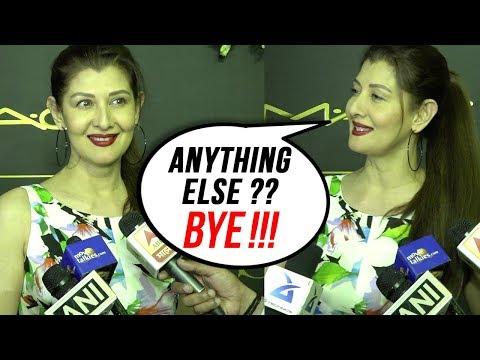 Sangeeta Bijlani ANGRY On Reporter Over Salman Kha