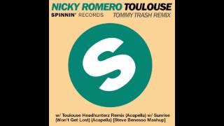 Video Nicky Romero - Toulouse (Tommy Trash Remix) w/ Sunrise (Won't Get Lost) (Acapella) MP3, 3GP, MP4, WEBM, AVI, FLV Juni 2018