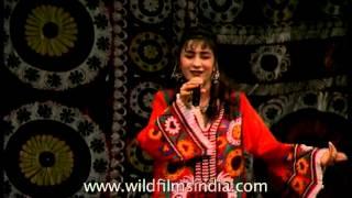 Folk Dance Of Tajikistan