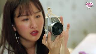 CLEO LIVE SELFIE WITH CANON EOS M100