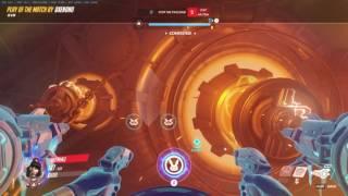 Overwatch DVA enemy assist my nuke LOL