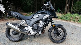 4. Honda CB500X Rally Raid Stage 3 Adventure Conversion DONE