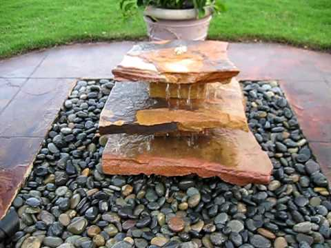Erica's Natural Stone Fountain by Creative Cascades