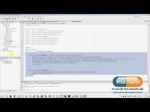 Spring Security 3.0 - This video was made to show how easy it is implement Spring security on a JSF project. I am including a blog post with the source code at: http://www.getwebi...