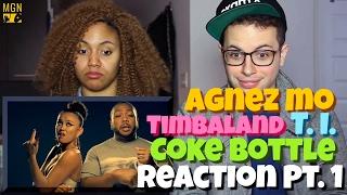 Download Lagu AGNEZ MO - Coke Bottle (Ft. Timbaland, T.I.) Reaction Pt.1 Mp3