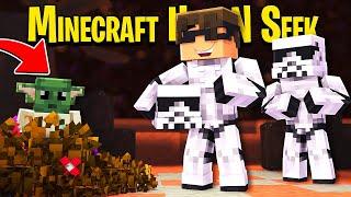 Minecraft Hide N Seek: BABY YODA Edition!