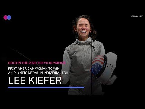 Lee Kiefer Creates History at the 2020 Tokyo Olympics
