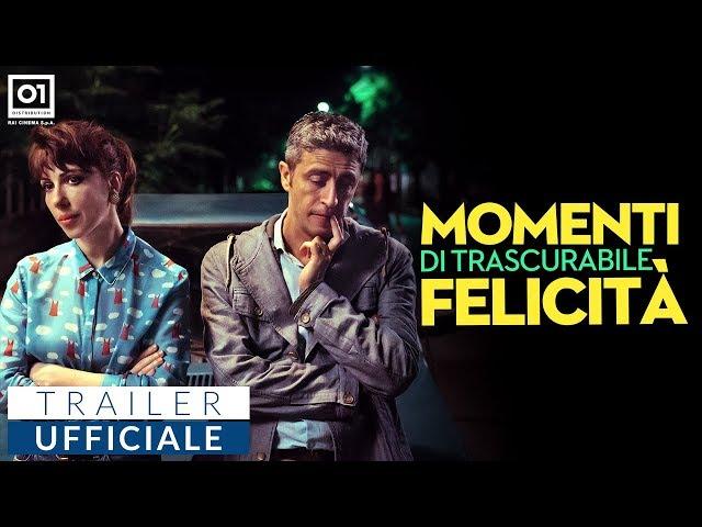 Anteprima Immagine Trailer Momenti di trascurabile felicità, trailer ufficiale